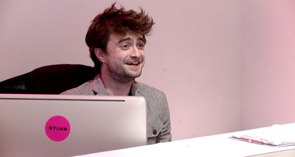 Daniel Radcliffe Was NYLON's Receptionist For An Hour And The Result Was Hilarious!