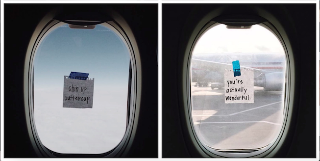 Flight Attendant Is Spreading Happiness Through Her Random Acts Of Kindness