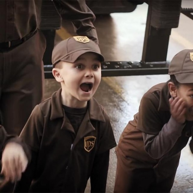 UPS Delivers Wishes By Training A Group Of ADORABLE Kids To Be Their Littlest Drivers