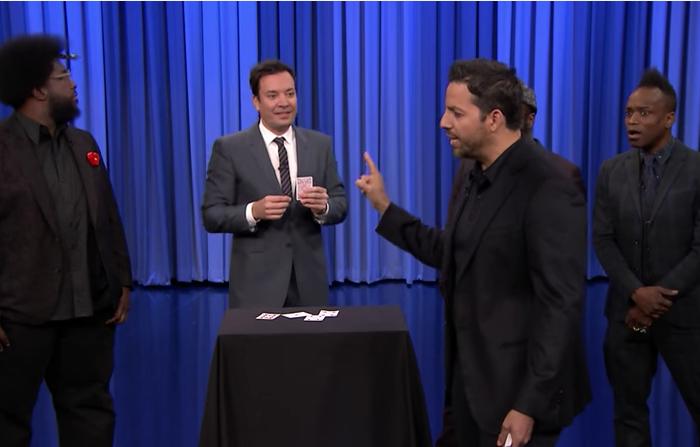 Everyone enjoys a little magic — even Jimmy Fallon