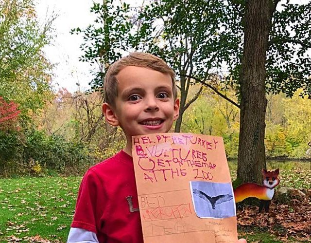 Cuteness Overload Alert! 5-Year-Old Petitions To Have Turkey Vultures Placed On His Local Zoo's Map