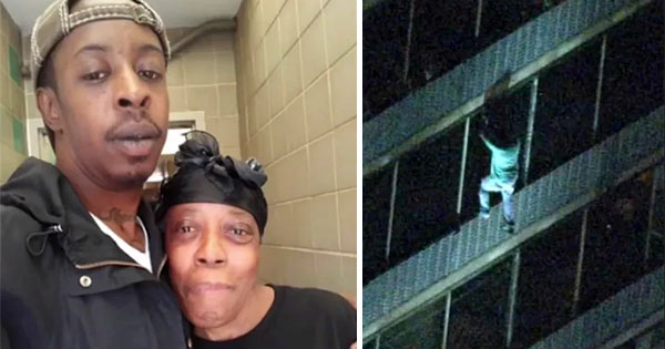 Man Explains How He Climbed 15 Floors to Save His Mom From a Burning Apartment Building 3