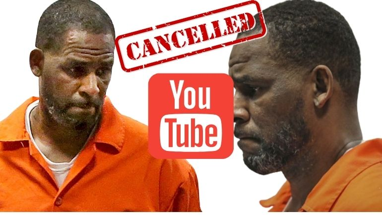 YouTube removes R. Kelly's official channels 3