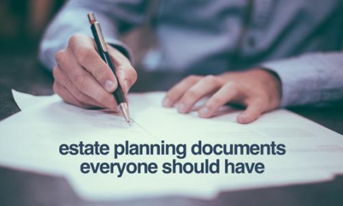 celebrity estate plan documents
