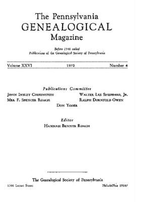PGM Volume 26 Number 4