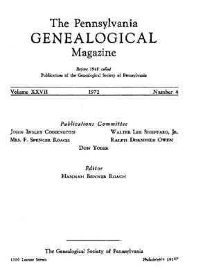 PGM Volume 27 Number 4