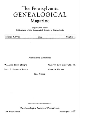 PGM Volume 28 Number 1