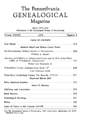 PGM Volume 28 Number 4