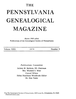 PGM Volume 30 Number 3