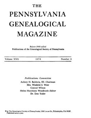 PGM Volume 30 Number 4