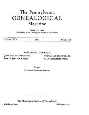 PGM Volume 25 Number 2