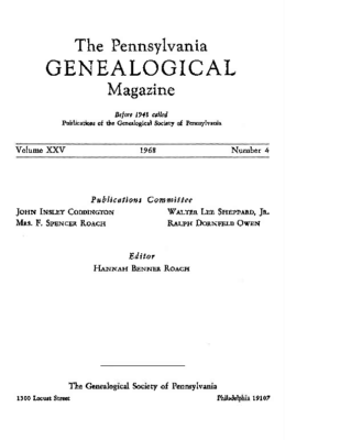 PGM Volume 25 Number 4 and Index