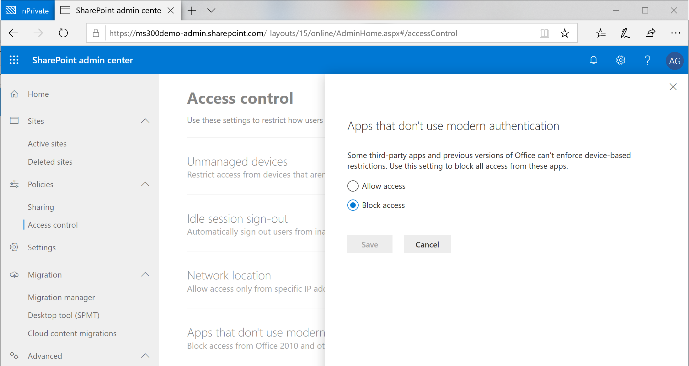 Resolved: SharePoint Online web site does not support SharePoint Online credentials