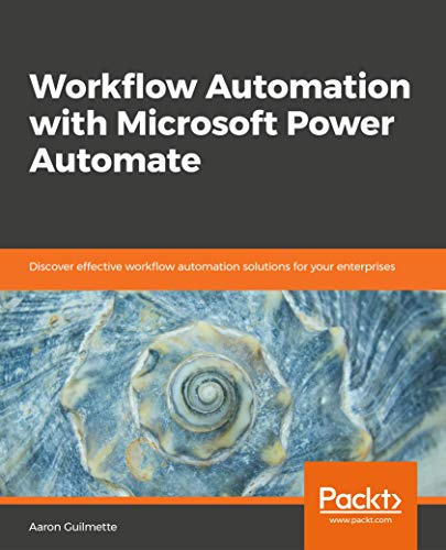 Available for Pre-Order: Workflow Automation with Microsoft Power Automate