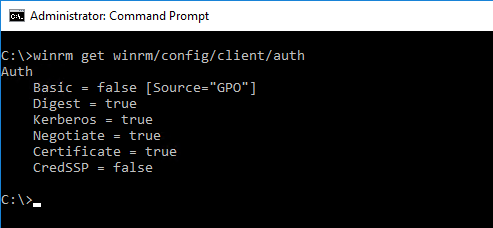 Exchange Hybrid Configuration Wizard: WinRM client cannot process the request
