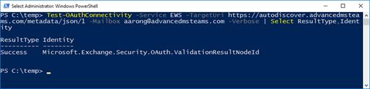 Manual OAuth Configuration for Microsoft Teams in a Hybrid Scenario