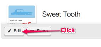 Advanced Webform Options, Edit Button