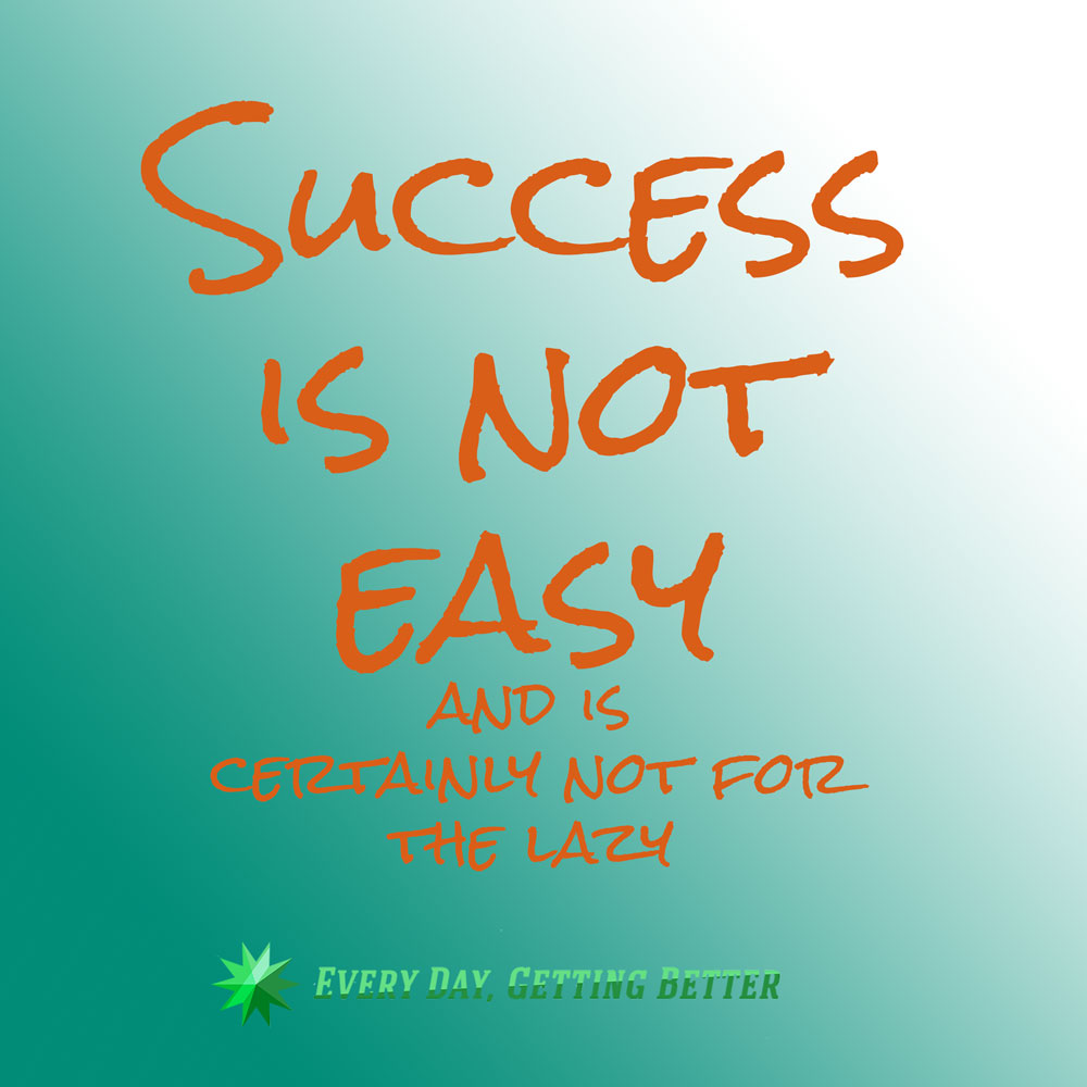 success-is-not-easy