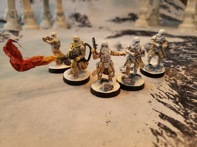 Getting minis table ready for Star Wars: Legion Pt 1 1