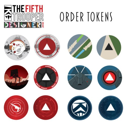 Order Tokens - Limited Art Edition Series 2 2