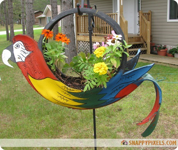 DIY Projects with Old Recycled Tires (26 Pictures)