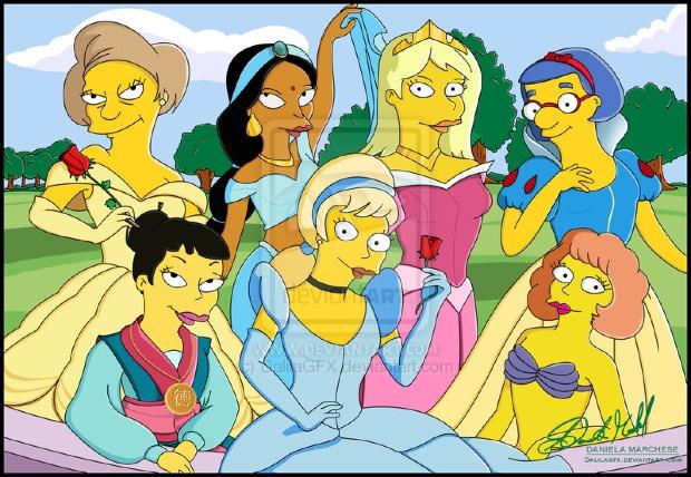 Odd & Unusual Versions of The Disney Princesses