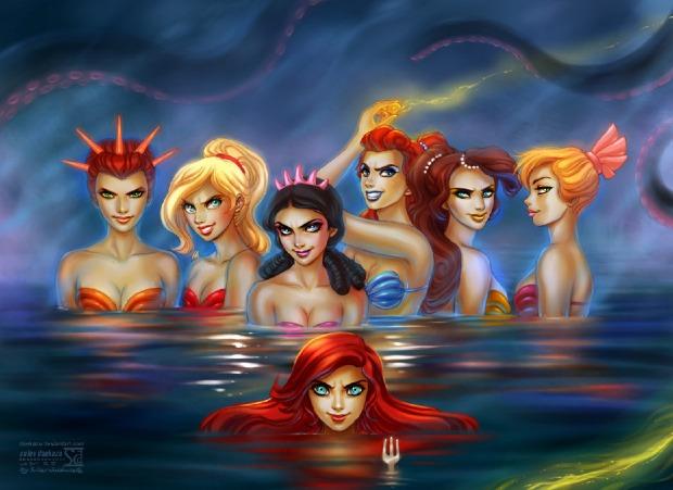 disney__s_mermaids_by_daekazu-d4fcuvu-picture