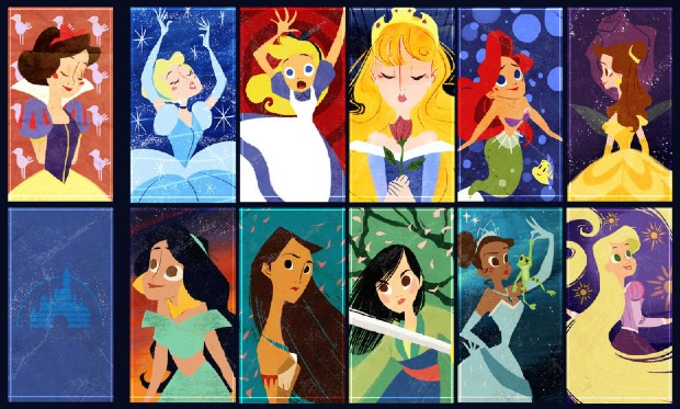 disney_ladies_trading_cards_by_the_orange_one-d4ab8dd-picture