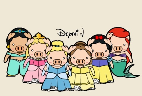 disney_pigcesses___D_by_malinamnam-picture