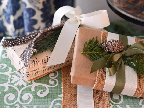 Layered DIY Gift WRapping