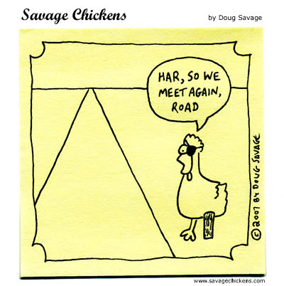The 51 Very Best and Funniest Savage Chickens Comics