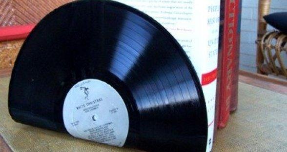 diy-vinyl-records-bookends