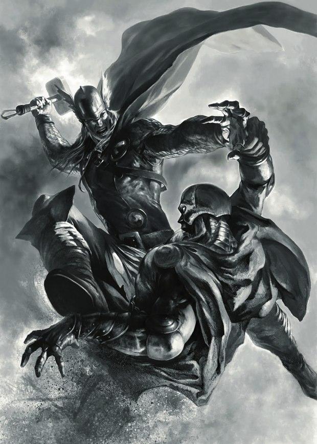 thor vs doctor doom