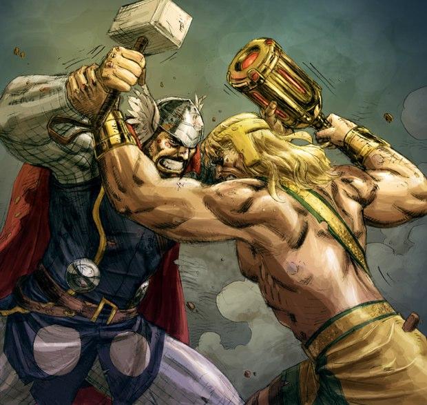 thor vs hercules