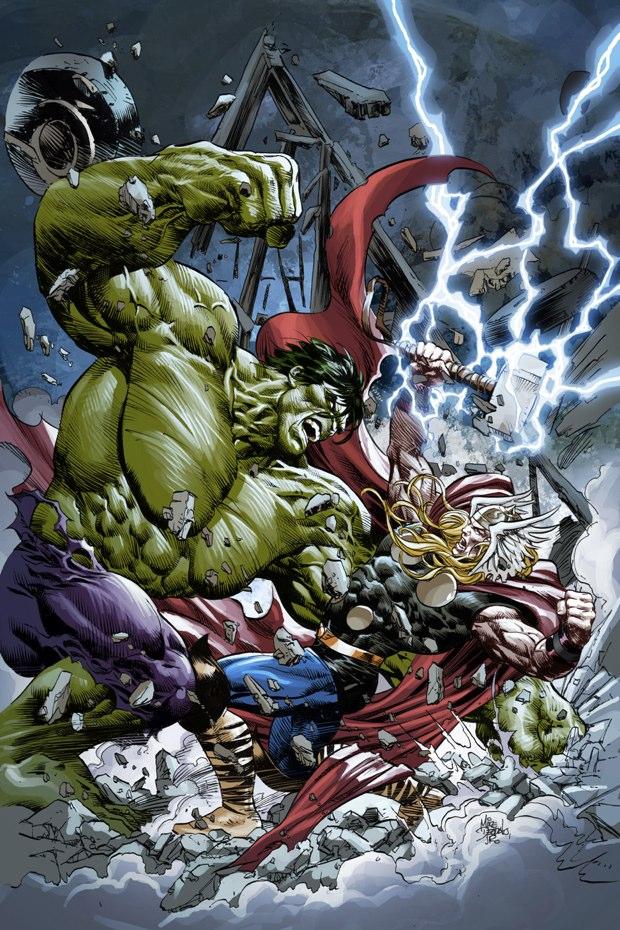 thor vs hulk 6