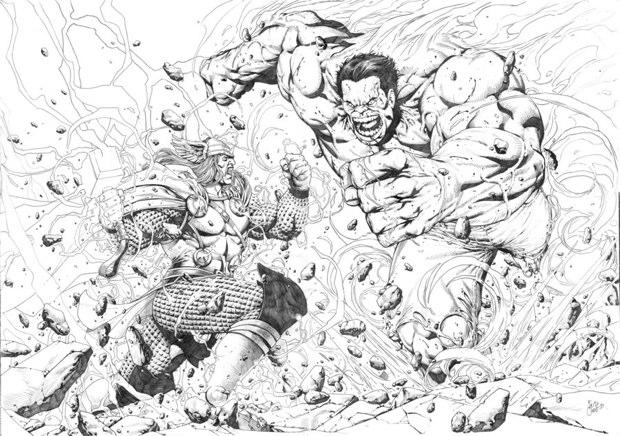 thor vs hulk 8