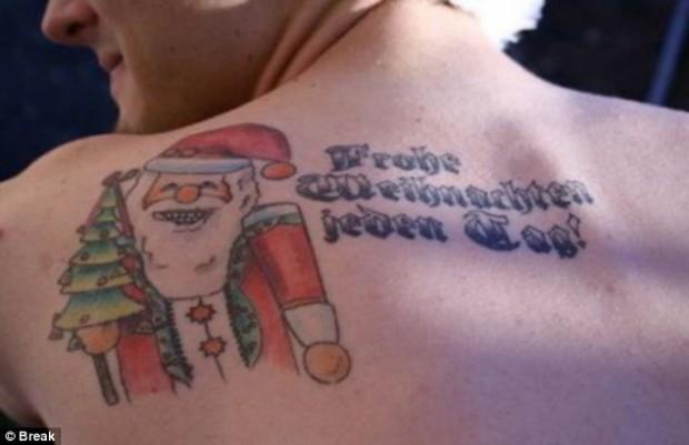 Christmas Tattoo 20
