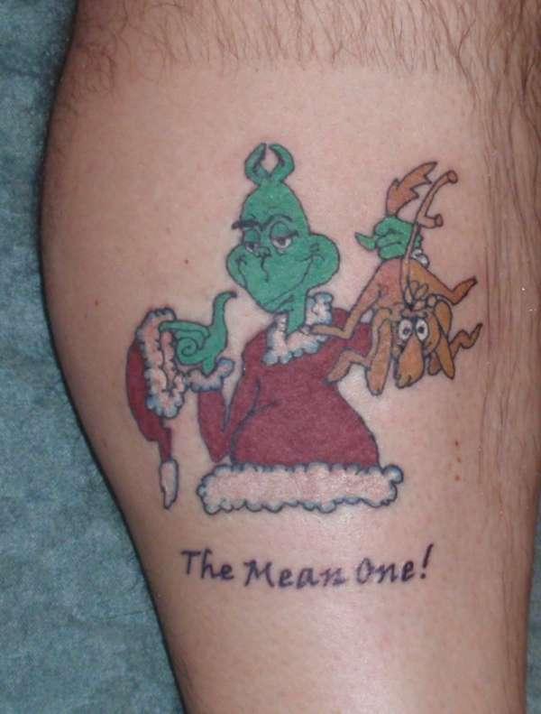 Christmas Tattoo 31