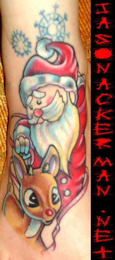 Christmas Tattoo 59