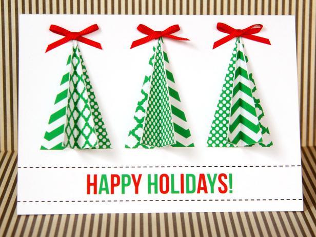 18 Homemade DIY Christmas Cards to Impress