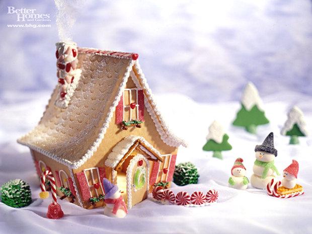 Simple-Inspiring  Gingerbread House Ideas-10