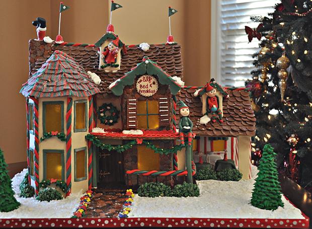 Simple-Inspiring  Gingerbread House Ideas-14