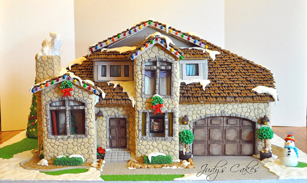 Simple-Inspiring  Gingerbread House Ideas-18