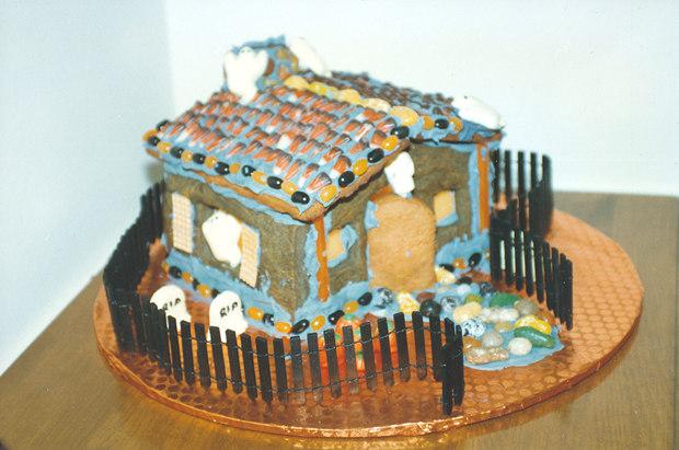 Simple-Inspiring  Gingerbread House Ideas-30