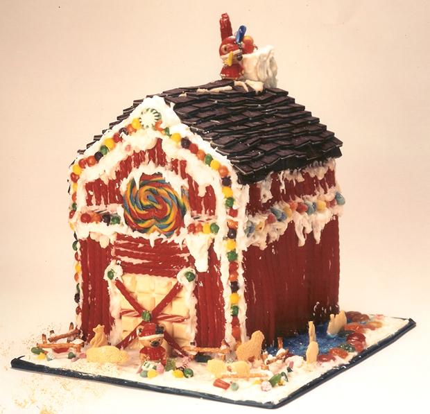 Simple-Inspiring  Gingerbread House Ideas-37