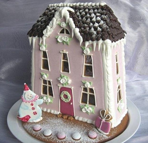 Simple-Inspiring  Gingerbread House Ideas-4
