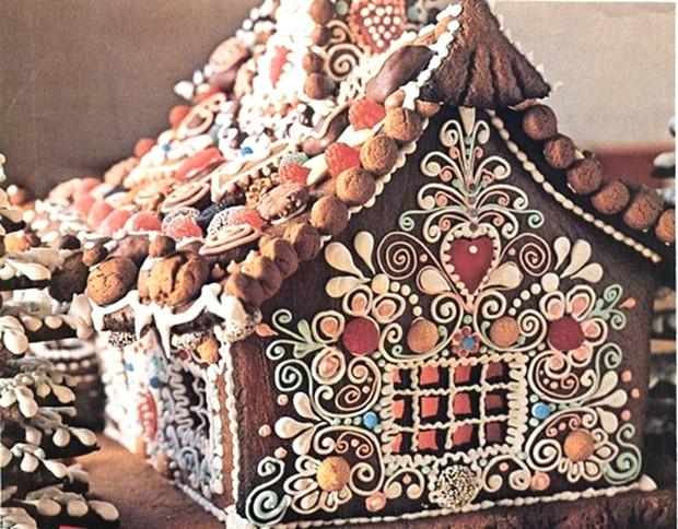 Simple-Inspiring  Gingerbread House Ideas-8