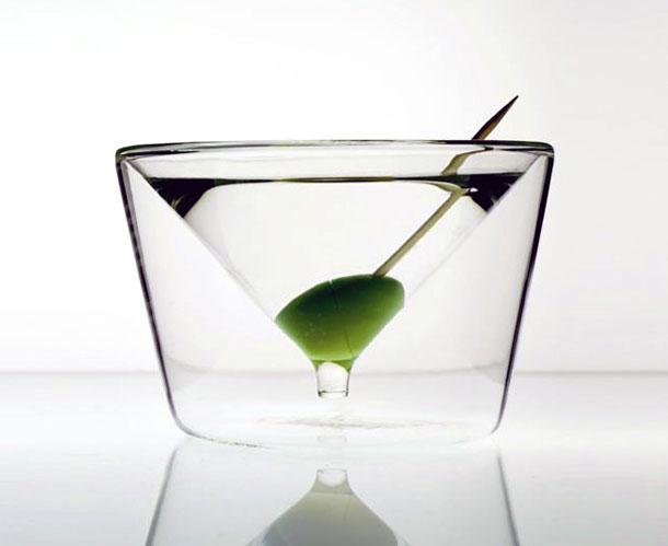 creative martini glass