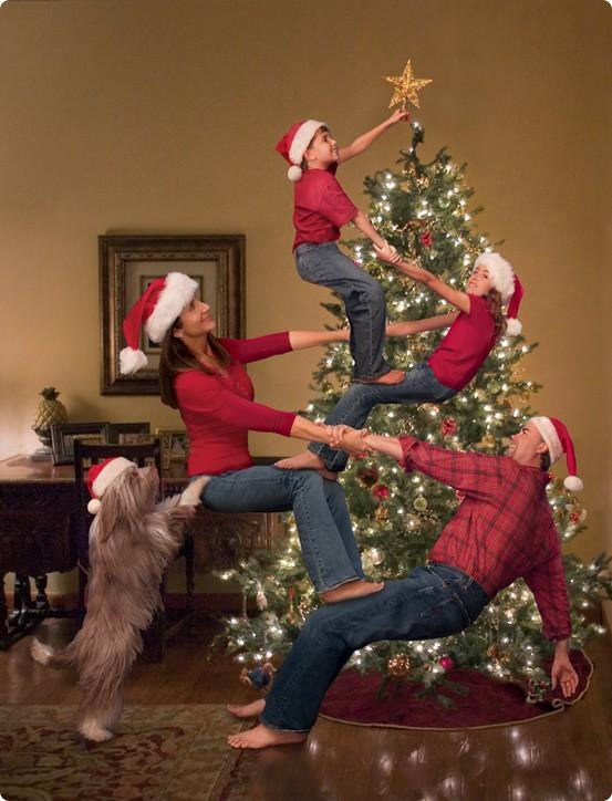20 Funny Christmas Card Ideas for the Family