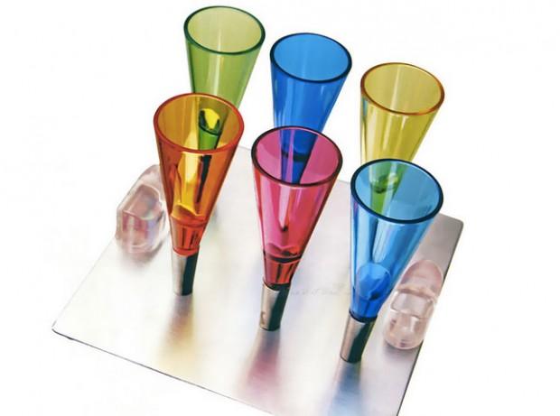magnetic shot glasses